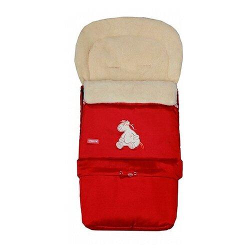 Купить Конверт-мешок Womar Multi Arctic в коляску 83 см 4/2 красный, Конверты и спальные мешки