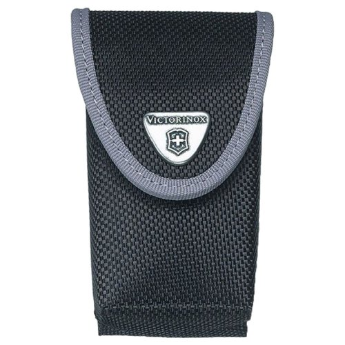 Чехол для ножей 91 мм 5-8 уровней нейлоновый VICTORINOX черный чехол victorinox для ножей 91 мм 5 8 уровней с отд для фонаря и точильного камня кожаный чёрный