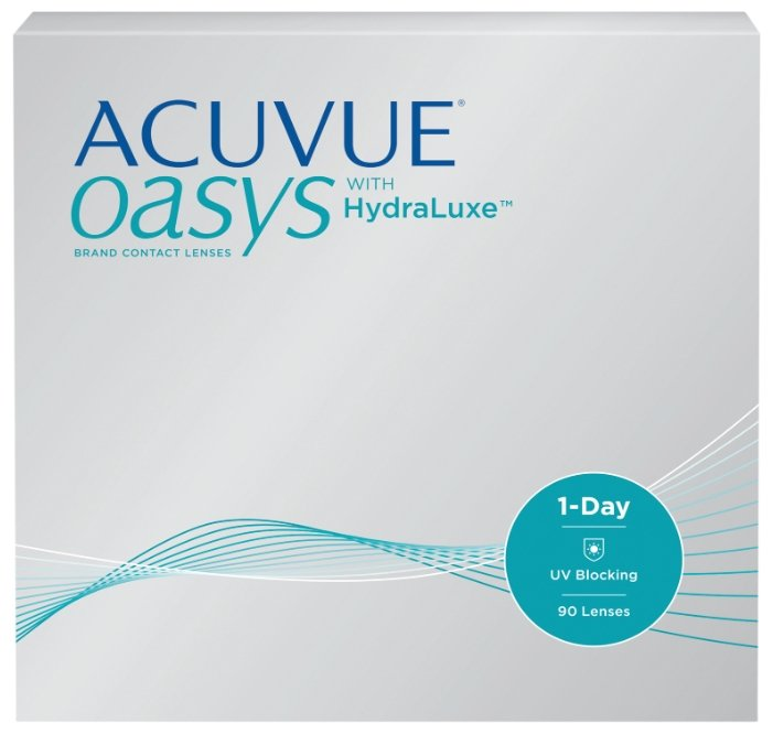 Контактные линзы Johnson & Johnson 1-Day Acuvue Oasys with HydraLuxe (90 линз / 8.5 / -4.25)