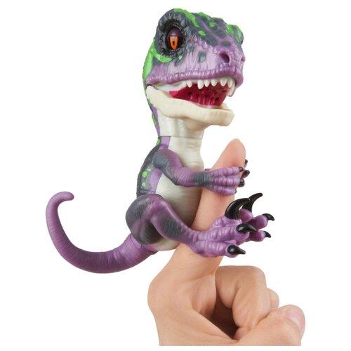 Купить Интерактивная игрушка робот WowWee Fingerlings Untamed Raptor Series 1 Рейзор, Роботы и трансформеры
