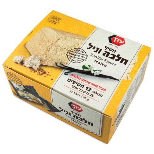 Халва PROFFI Eden кунжутная со вкусом ванили, в коробке 12 шт.Восточные сладости<br>