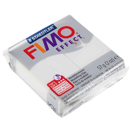 Фото - Полимерная глина FIMO Effect запекаемая белый с блестками (8020-052), 57 г полимерная глина artifact lapsi glitter 9 классических цветов с блестками 7109 78 180 г