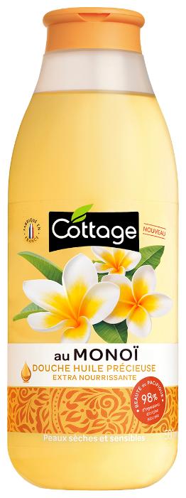 Масло для душа Cottage Monoi
