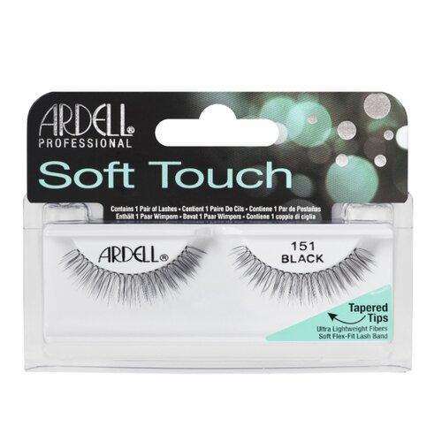 Ardell накладные ресницы Soft Touch 151 черный