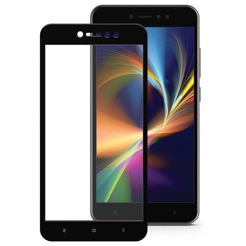 цена на Защитное стекло Mobius 3D Full Cover Premium Tempered Glass для Xiaomi Redmi Note 5A/5A Prime черный