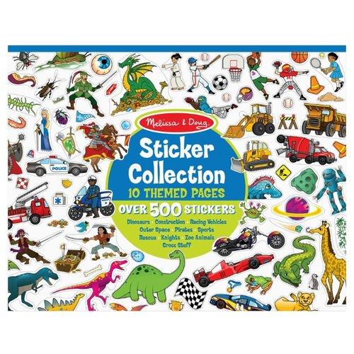 Купить Melissa & Doug Набор стикеров, голубой (4246), Наклейки
