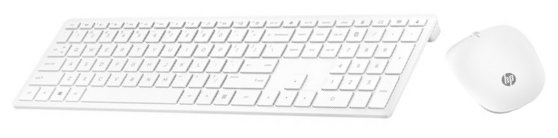 HP Клавиатура и мышь HP 4CF00AA Wireless Keyboard and Mouse 800 White USB