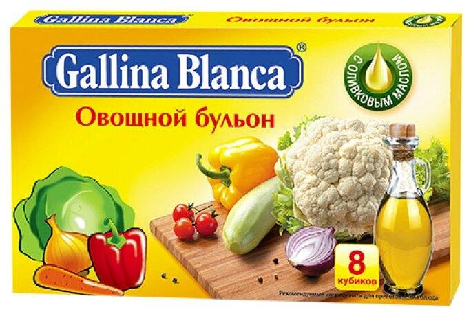 Gallina Blanca Бульонный кубик Овощной бульон (8 шт.) 80 г