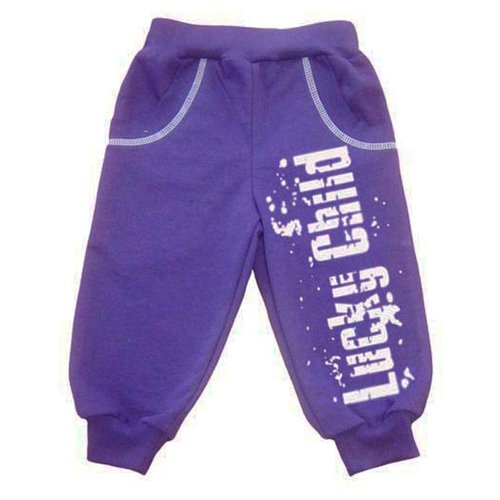 Купить Брюки lucky child размер 26, фиолетовый, Брюки и шорты