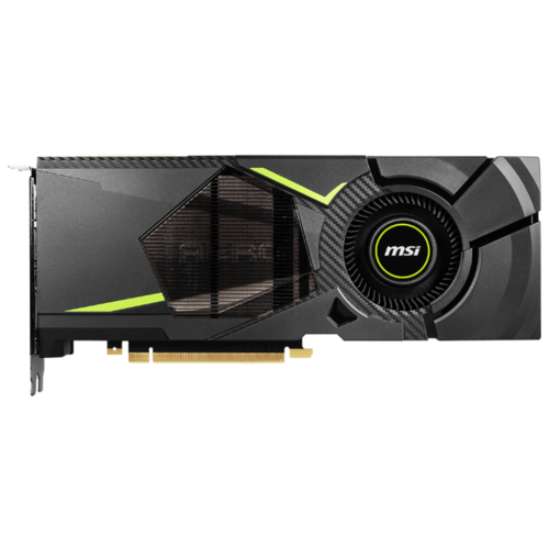 Видеокарта MSI GeForce RTX 2080 1515MHz PCI-E 3.0 8192MB 14000MHz 256 bit HDMI HDCP AERO Retail