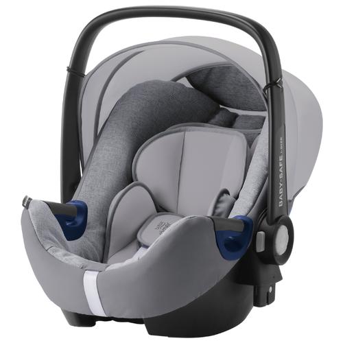 Купить Автокресло-переноска группа 0+ (до 13 кг) BRITAX ROMER Baby-Safe2 i-Size, grey marble, Автокресла