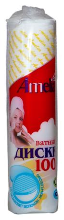 Amelia Ватные диски 80 шт.