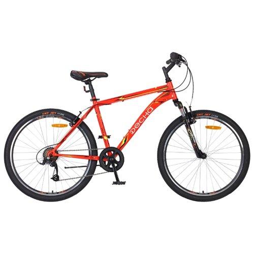 цена на Горный (MTB) велосипед Десна 2612 V красный 18 (требует финальной сборки)