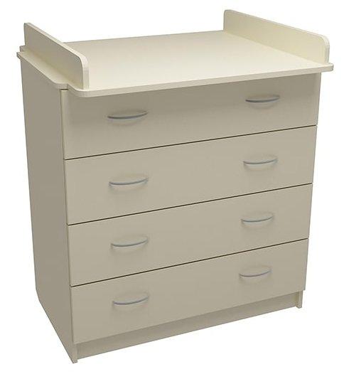 Пеленальный комод ФА-мебель Маргаритка 4