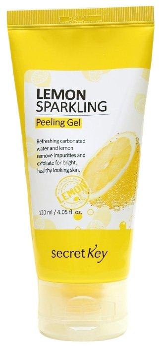 Secretkey Пилинг-скатка Lemon sparkling peeling gel