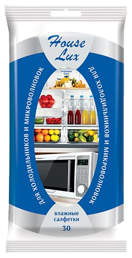 Влажные салфетки House Lux для холодильников и микроволновых печей 30 шт.