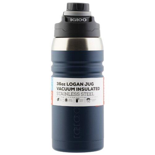 Классический термос Igloo Logan 36 (1 л) denim