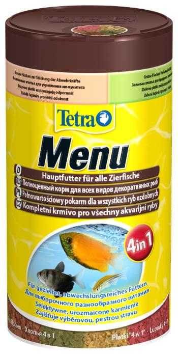 Сухой корм Tetra Menu для рыб