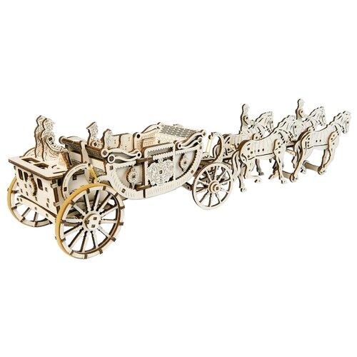 Купить Сборная модель UGEARS Королевская карета, Сборные модели