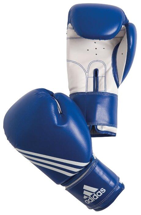 Перчатки боксерские Training сине-белые (вес 8 унций)