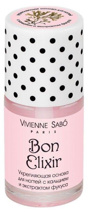 Базовое покрытие Vivienne Sabo Укрепляющее с кальцием и экстрактом фукуса Bon Elixir 15 мл
