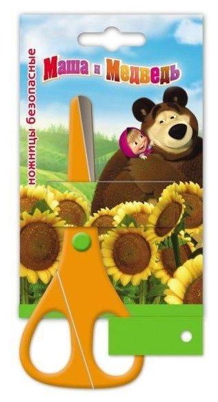РОСМЭН Ножницы Маша и медведь 13,5 см