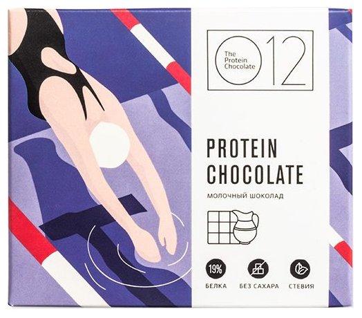 O12 протеиновый шоколад 50 г