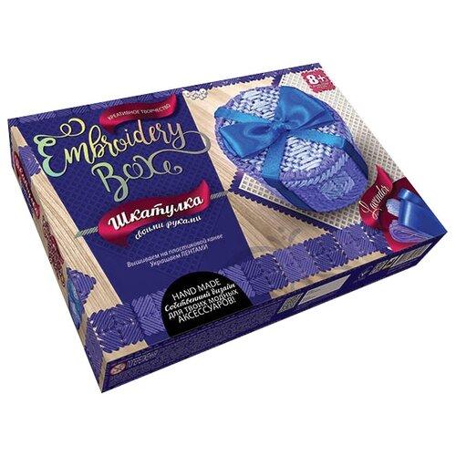 Купить Danko Toys Набор для вышивания Embroidery Box Шкатулка Набор 2 (EMB-01-02), Наборы для вышивания