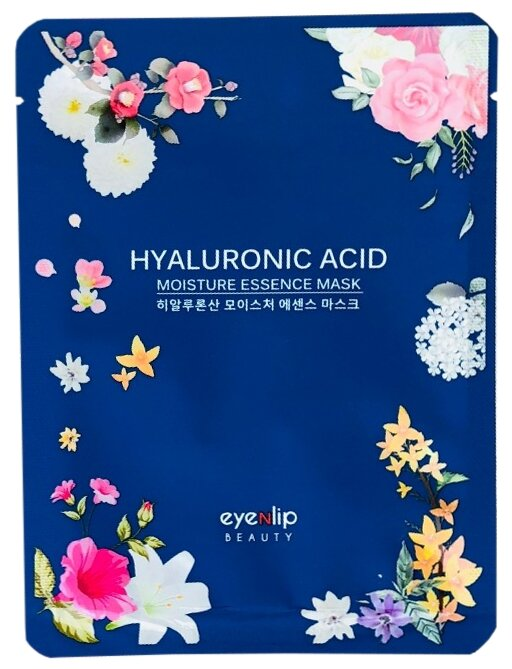 Eyenlip Moisture Essence Mask Hyaluronic Acid тканевая маска с гиалуроновой кислотой