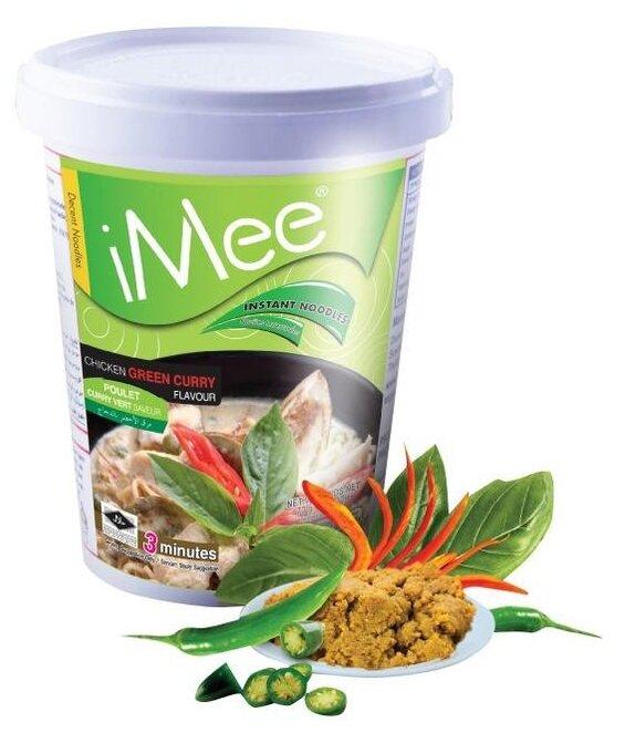 IMee Лапша со вкусом курицы с зеленым карри 70 г
