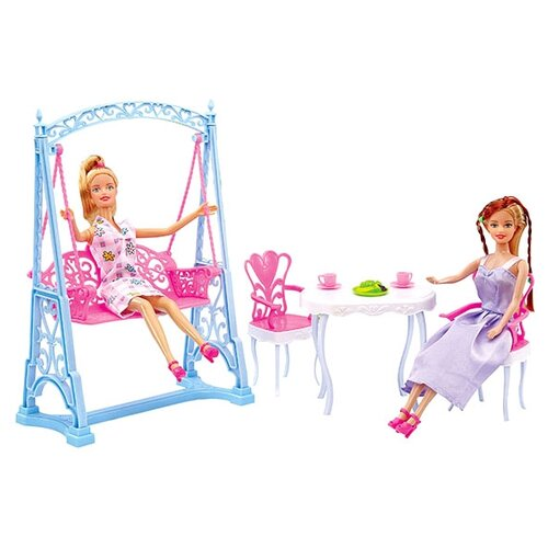 Кукла Dolly Toy с набором мебели Вечеринка в саду DOL0803-023, Куклы и пупсы  - купить со скидкой