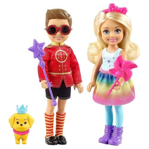 Купить Набор кукол Barbie Дримтопия Челси и Отто, 14 см, FRB14, Куклы и пупсы