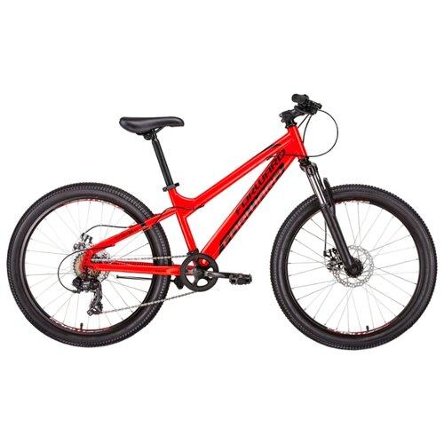 Подростковый горный (MTB) велосипед FORWARD Titan 24 2.0 Disc (2019) красный 13 (требует финальной сборки)Велосипеды<br>