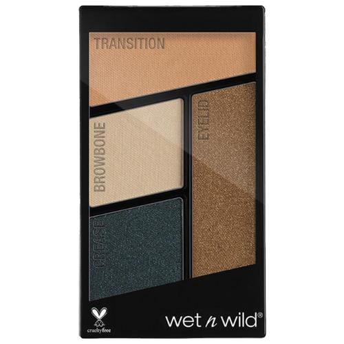 Wet n Wild Палетка теней для век Color Icon Eyeshadow Quad hooked on vinyl wet n wild палетка теней для век color icon eyeshadow quad petalette