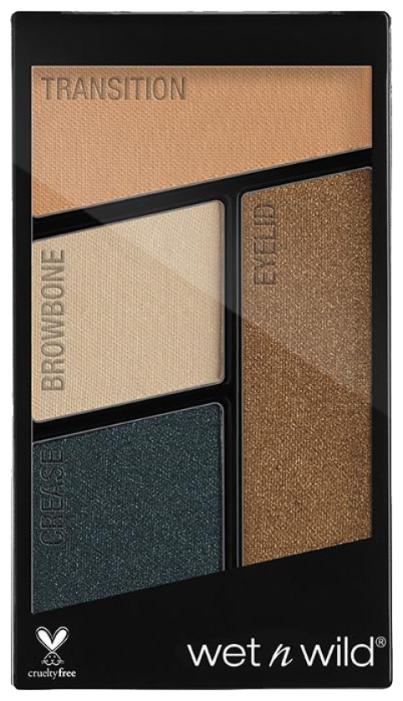 Wet n Wild Палетка теней для век Color Icon Eyeshadow Quad — купить по выгодной цене на Яндекс.Маркете