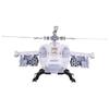 Набор техники Нордпласт Военный тягач Арктика с вертолетом (286)