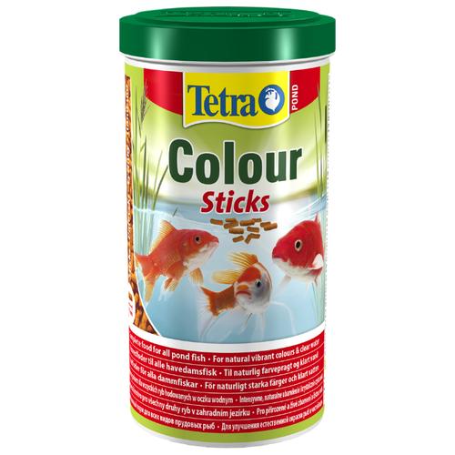 Сухой корм Tetra Pond Colour Sticks для рыб 1000 мл сухой корм tetra pond colour sticks для рыб 4000 мл