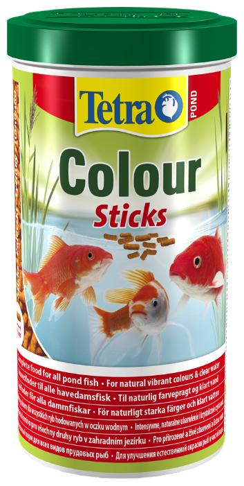 Сухой корм Tetra Pond Colour Sticks для рыб