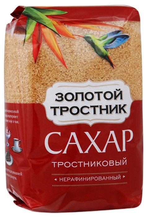 Сахар тростниковый Золотой Тростник нерафинированный, 900 г