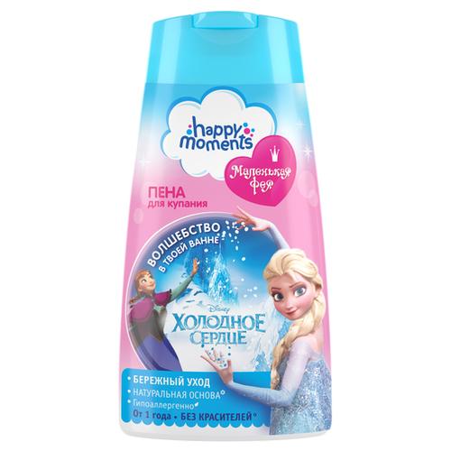 Купить Happy Moments Маленькая фея Пена для купания Холодное сердце 240 мл, Средства для купания