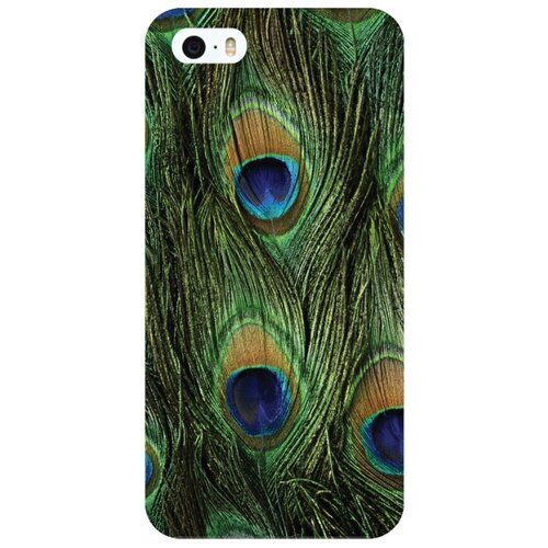 Купить Чехол Mitya Veselkov IP5.МITYA-276 для Apple iPhone 5/iPhone 5S/iPhone SE павлин