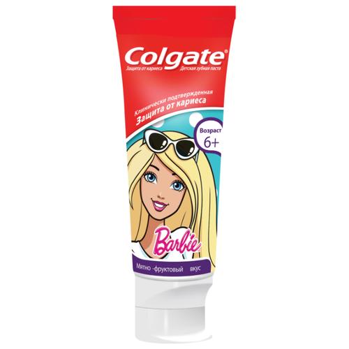 Купить Зубная паста Colgate Barbie 6+, 75 мл, Гигиена полости рта