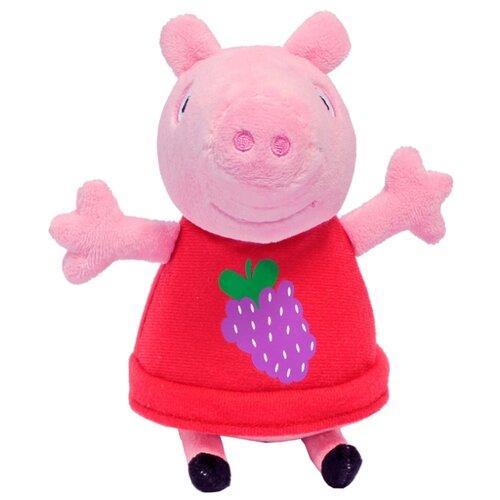 Купить Мягкая игрушка РОСМЭН Peppa pig Пеппа с виноградом 20 см, Мягкие игрушки