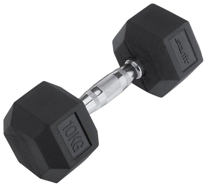 Гантель неразборная Starfit DB-301 10 кг черная