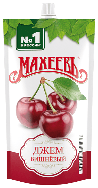 Джем Махеевъ вишневый, дой-пак 300 г
