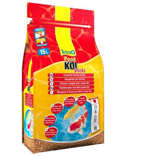 Сухой корм для рыб Tetra Pond Koi Sticks 15000 мл сухой корм для рыб tetra pond koi sticks 15000 мл