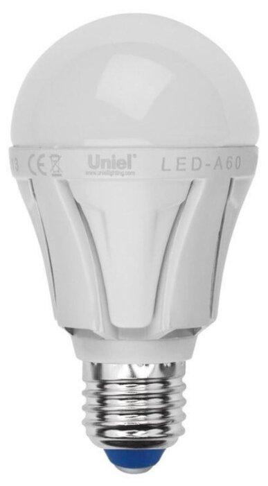 Uniel Яркая LED-A60 10W / WW / E27 / FR PLP01WH UL-00001524