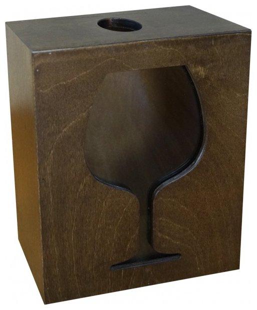 Копилка для винных пробок Мастер Рио 1/259733 коричневый