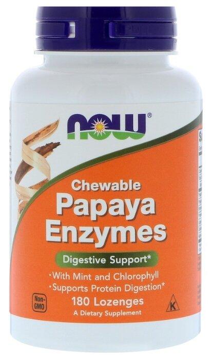 Papaya Enzymes жевательные пастилки 180 шт. — купить по выгодной цене на Яндекс.Маркете