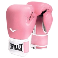Боксерские перчатки Everlast PU Pro style anti-MB youth red 16 oz